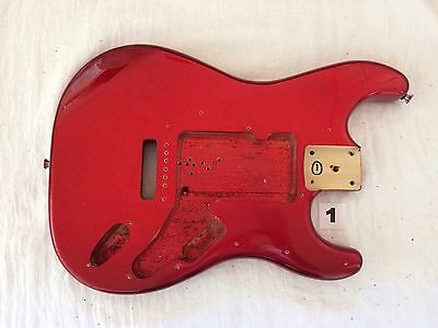 New Superb Quality RED Guitar Body fits Fender,Squier,Strat,Stratocaster >1