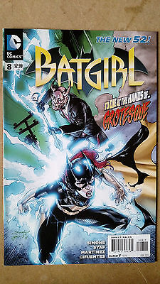 Batgirl #8 First Print Dc Comics (2012) New 52 Gail Simone