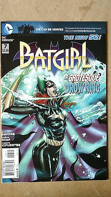 Batgirl #7 First Print Dc Comics (2012) New 52 Gail Simone