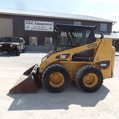 2012 Caterpillar 226B3 Cat skidsteer Nice shape Clean Video!