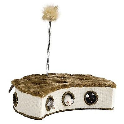 Beeztees Cat Play Box with Mice and Feather 32 X 18 cm