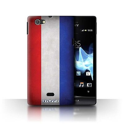 Case/Cover Sony Xperia Miro/ST23I / Flags / Netherlands