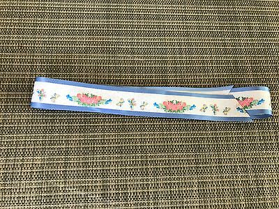 """American Girl 18"""" Doll Felicity Retired Summer Outfit Dress SASH ONLY PC"""