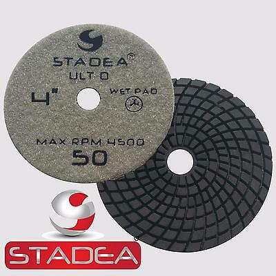 Stadea 4 Inch Granite Polishing Pads for Granite Quartz Stone Polishing