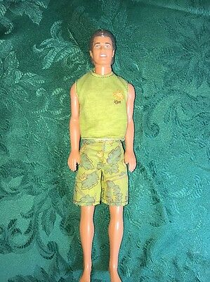 Rare Vintage BARBI Beach KEN Doll - 12 Inch With Beach Outfit