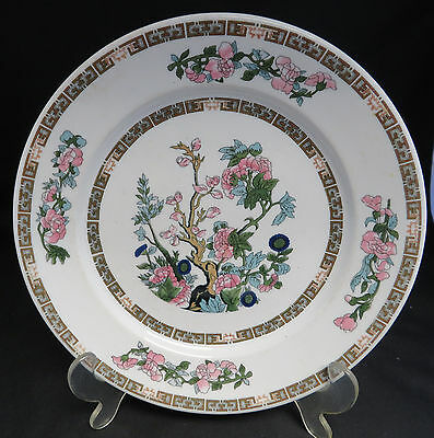 vintage Scammell's Trenton China 08314 ware collection plate flowers tree 9""