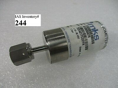 MKS 722A01TCD2FA Pressure Transducer 1 Torr (Used Working, 90 Day Warranty)