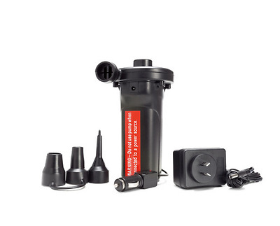 Rechargeable Air Pump Inflate Deflate Li-On Battery Portable Outdoor Camping
