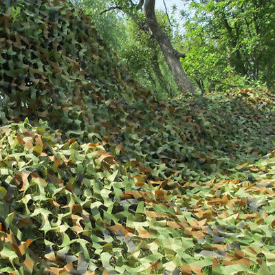 2*3m / 3*4m Woodland Camouflage Camo Net Netting Camping Military Hunting Shade