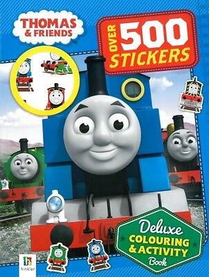 Thomas And Friends  Deluxe Colouring And Activity free priority post Australia'