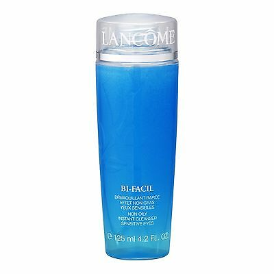 LANCOME Bi-Facil Non Oily Instant Cleanser Sensitive Eyes 125ml Makeup Remover