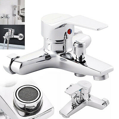 Bathroom Tub Shower Faucet Wall mount shower head bath faucet valve Mixer Tap