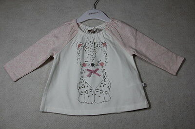 Baby Girl Size 000,00,0,1,18m,2 Fox And Finch Winter Pink Top With Graphics NWT