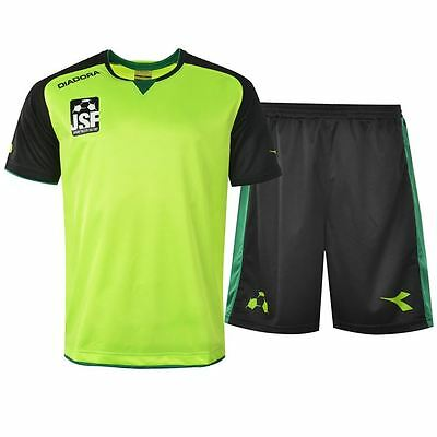 Diadora Training Set JUNIOR SOCCER FACTORY  bnwot SZ 13-XL  BOYS FREE POST (D86)