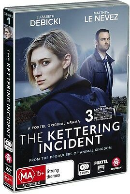 BRAND NEW The Kettering Incident (DVD, 2017, 3-Disc Set) *PREORDER R4 Series 1