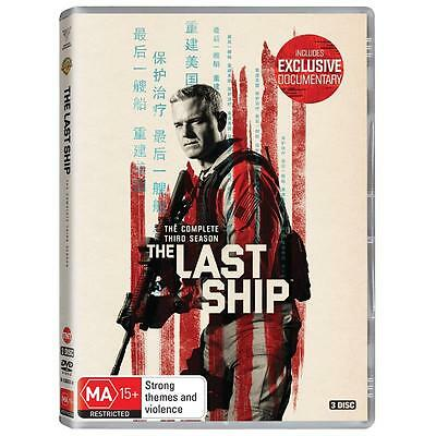 BRAND NEW The Last Ship : Season 3 (DVD, 2017, 3-Disc Set) *PREORDER R4