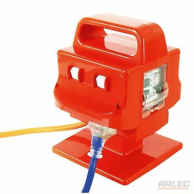 NEW ARLEC Heavy Duty Portable 4 Outlet 15 Amp Safety Switch - PB97