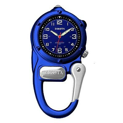 Dakota Watch Mini Clip with Microlight - Blue 38088