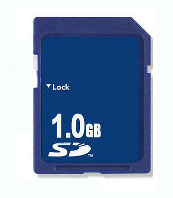 1GB SD Memory Card Standard 1GB Secure Digital Low Capacity For Old Devices