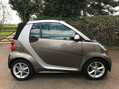 2011 61 Smart fortwo 1.0 mhd ( 71bhp ) Softouch  Pulse CABRIOLET CONVERTIBLE