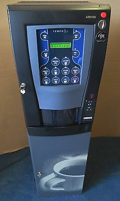 Rijo 42 Azkoyen Tempo Bean to Cup Coffee and Tea hot drinks Vending Machine