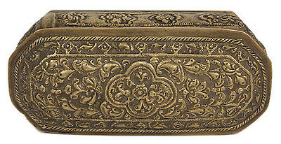 Burma 19. Jh. Messing Dose - A Burmese Brass Betel Nut Box - Boite Birmane בורמה
