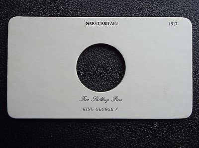 1927-1936 George V Crown Presentation Cards Choose Your Year
