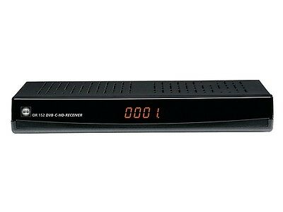Wisi OR 152 DVB-C HD Receiver PVR USB HDD Ready schwarz Kabelreceiver