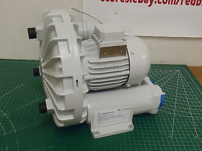"FUJI Regenerative Blower 1 Phase, 115 Voltage, 1-1/4"" (F)NPT VFD2S !81D!"