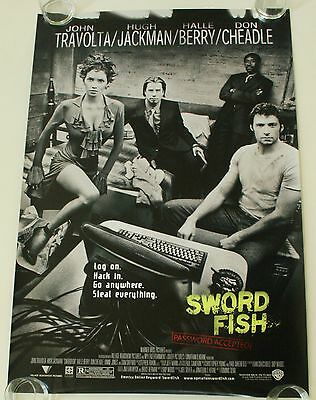Swordfish Ds Movie Poster One Sheet New Authentic
