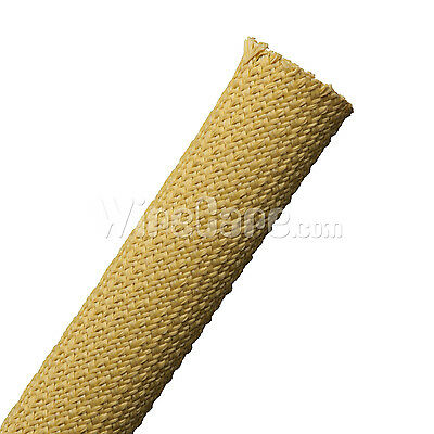"KVX1.00YL - Aramid Armor - 1"" - Yellow - 10 Ft Cuts"