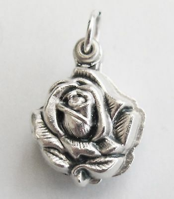 Miraculous Medal in a Rose