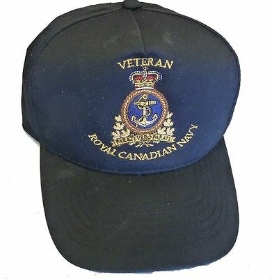 Royal Canadian Navy Veteran Cap with new RCN Command Badge
