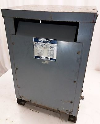 SYLVANIA SN29-115820 15kVA Single Phase Lighting Transformer 240v 480v 120v 240