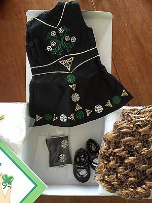 American Girl Doll Of Today Irish Dance Outfits NIB St Patrick's Nellie Samantha