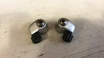 Campagnolo Record silver cable guides downtube bowden stopper fittings adjusters