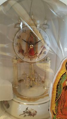 Mary Virgin Mother Themed Anniversary Clock...bnib