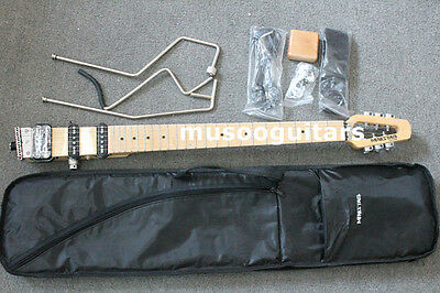 Ministar Brand Castar-Ii Travel Electric Guitar With Carrying Bag