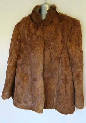 Vintage Stephen Dattner Fur LS Womens Coat Jacket Size 20