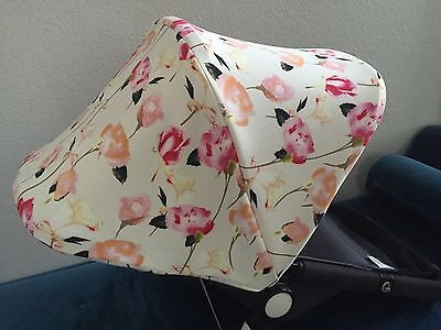 ROSES/ Cream Replacement  Canopy / Bugaboo CAMELEON,Cameleon3.