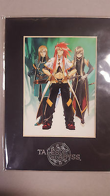 Tales of the Abyss Limited Edition Laser Cel