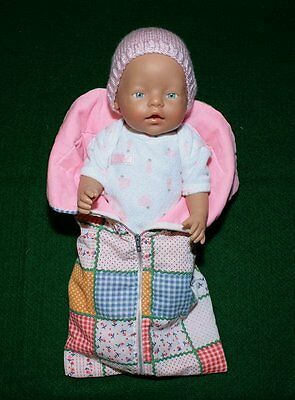 Zapf Creation baby doll original clothing 18""