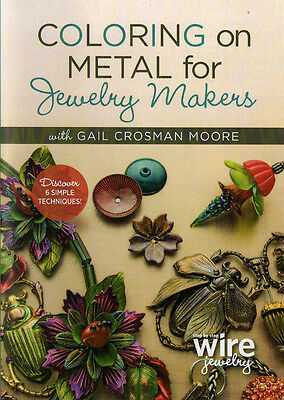Dvd Colouring On Metal For Jewellery Makers Coloring Gail Crosman Moore