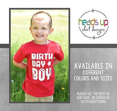 Birthday Boy Shirt Toddler 1 2 3 4 5 One Two Three Four Five