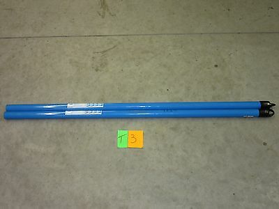 """2 Ideal 74-020 Handle Conduit Pipe Bender 1"""" Wide 44"""" Long Electrical New!!"""