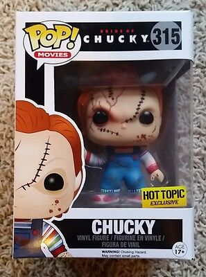 Funko Pop Bride Of Chucky Series Chucky Hot Topic Exclusive