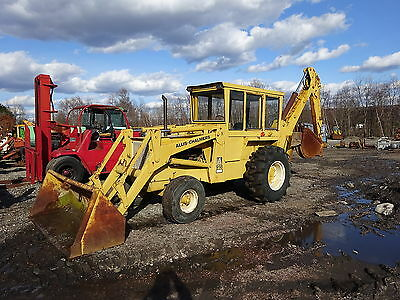 Allis Chalmers 918 Backhoe Loader RUNS MINT LOW HOURS ALL ORIGINAL Tractor