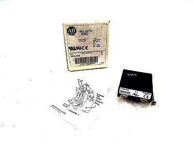 New Allen Bradley 595-A02 Series A Auxiliary Contact 1 No Size 0-2