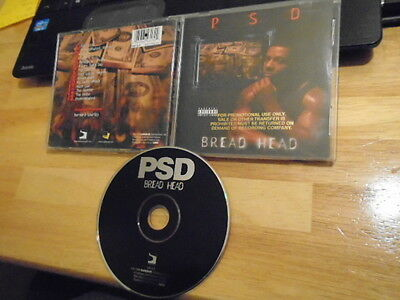 RARE PROMO OOP psd CD Bread Head RAP Thizz Nation Cutthroat Committee gangsta 99