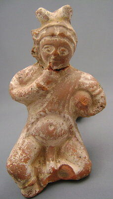Ancient Terracotta of Harpocrates The Child God - Gustave Jequier (1868-1946)